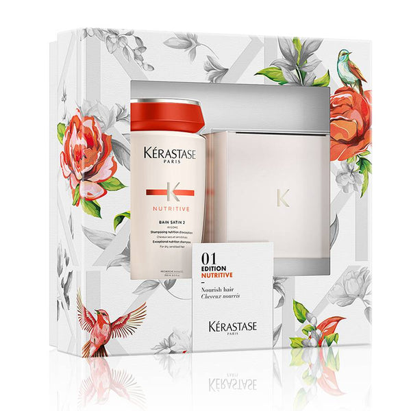 Kerastase 01 Edition Nutritive Set - Bain Satin 2 Shampoo + Masquintense Hair Mask