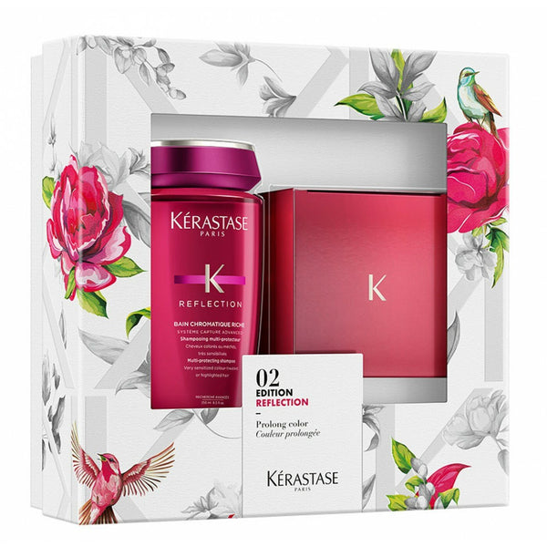 Kerastase 02 Edition Reflection Set - Bain Chromatique Riche Shampoo + Masque Chromatique Hair Mask
