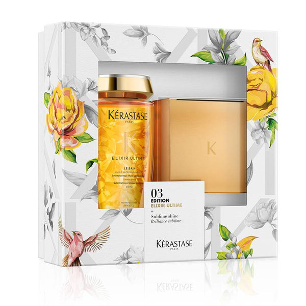 Kerastase 03 Edition Elixir Ultime Set - Le Bain Shampoo + Le Masque Hair Mask