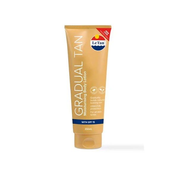 Le Tan Gradual Tan Moisturising Body Lotion with SPF 15