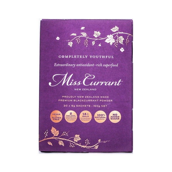 Miss Currant Premium Blackcurrant Powder