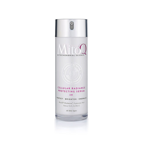 MitoQ Cellular Radiance Protecting Serum - AM (Available in Shop)