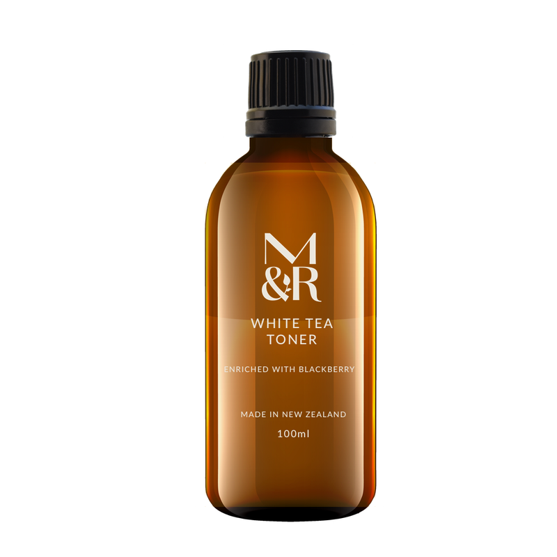 M&R Essentials Organic White Tea Toner