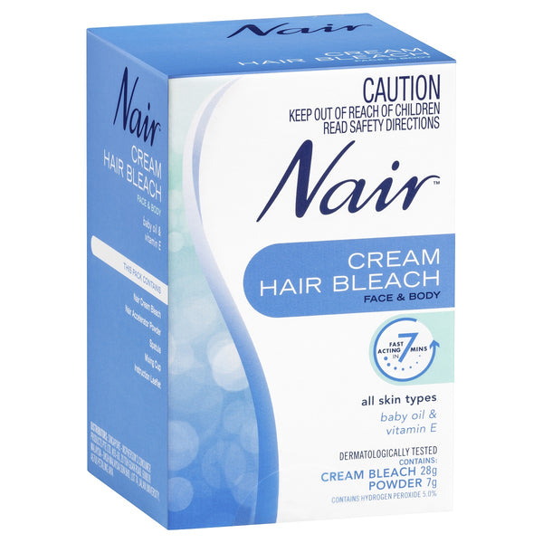 Nair Cream Hair Bleach
