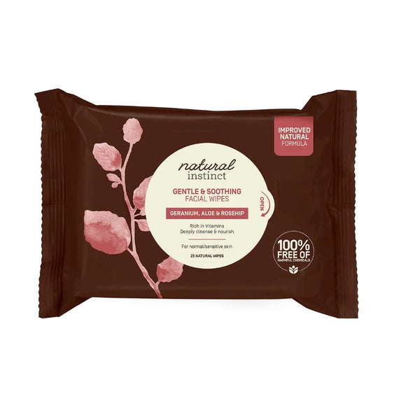 Natural Instinct Gentle & Soothing Facial Wipes