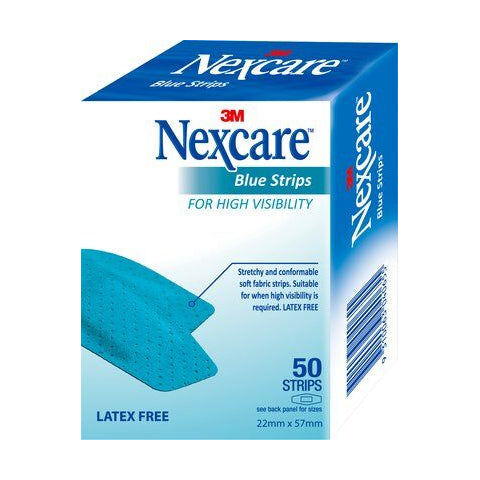 Nexcare Blue Strips