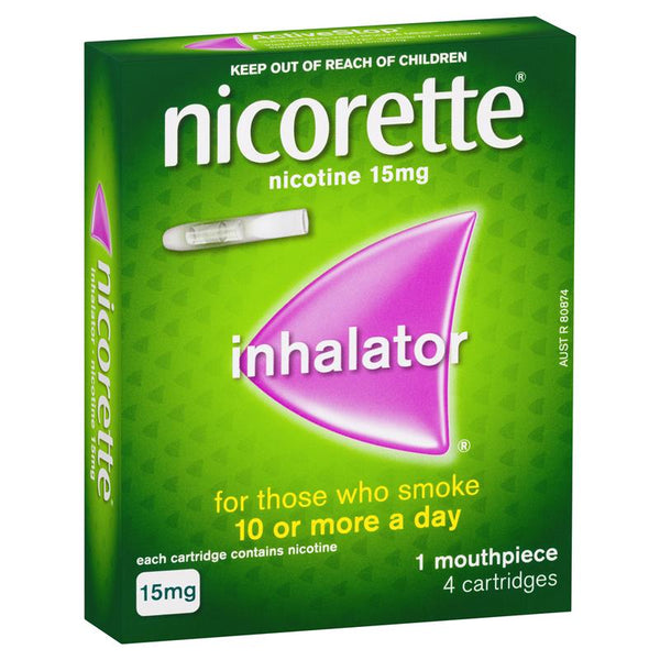 Nicorette Nicotine Inhalator 15mg