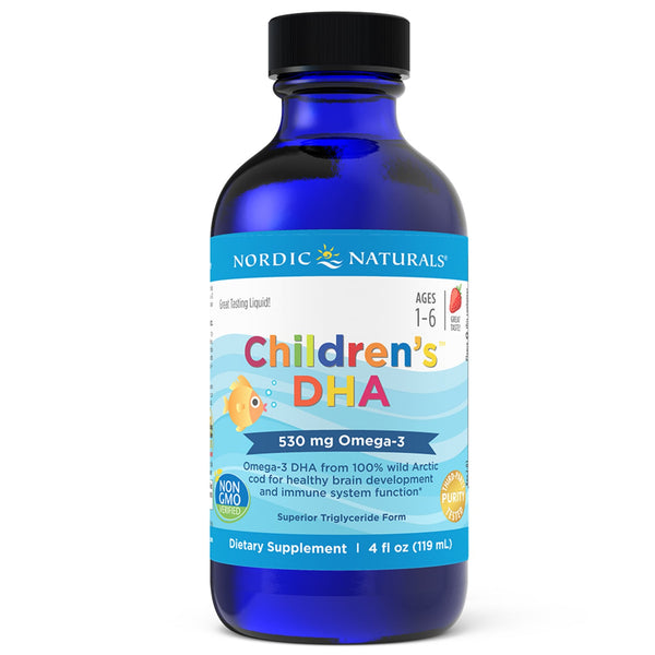 Nordic Naturals Children's DHA Liquid Strawberry Flavour