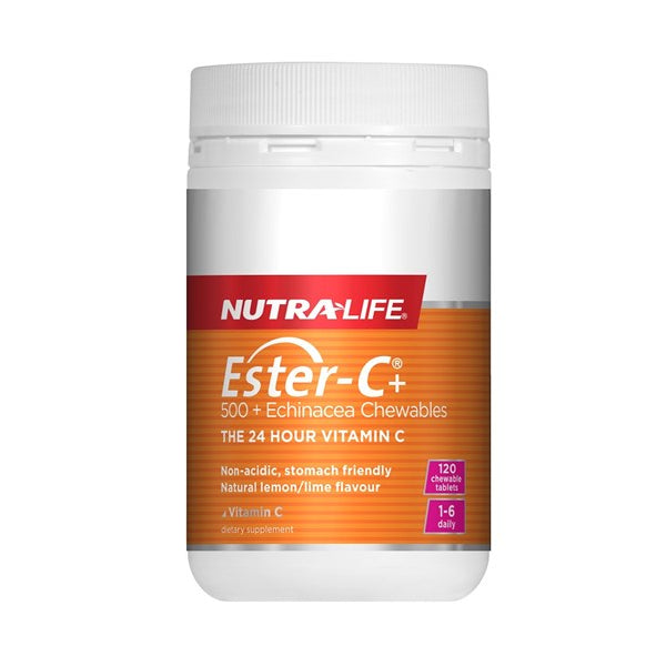 Nutra-Life Ester-C 500 + Echinacea Chewables