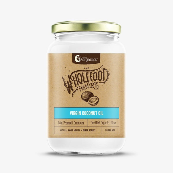 Nutra Organics Cold Pressed Organic Virgin Coconut Oil