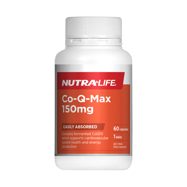 Nutra-Life Co-Q-Max 150mg