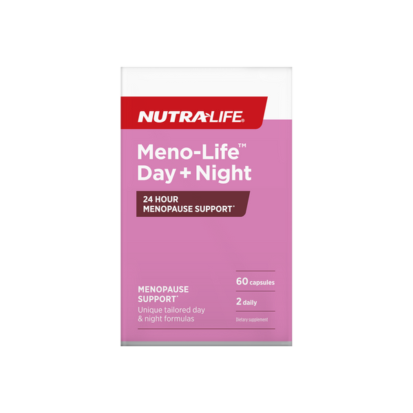 Nutra-Life Meno-Life Day + Night 24 Hour Menopause Support