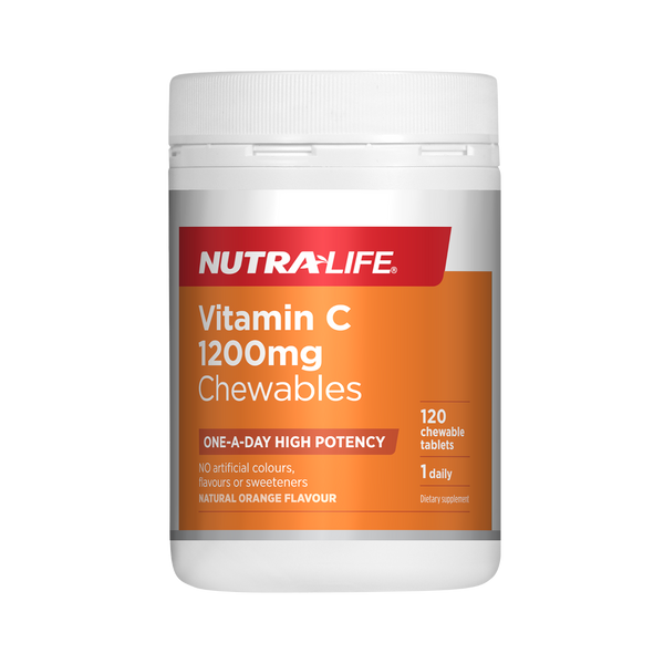 Nutra-Life Vitamin C 1200mg Chewables