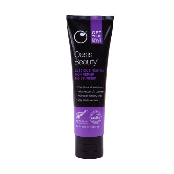 Oasis Beauty Beauty Sleep Luscious Nightly Skin Repair Moisturiser
