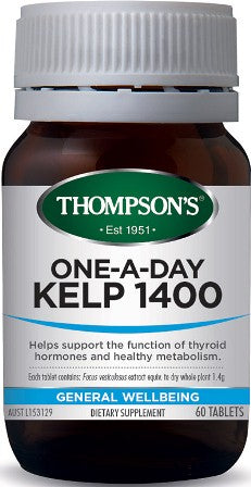 Thompsons Kelp 1400 One A Day