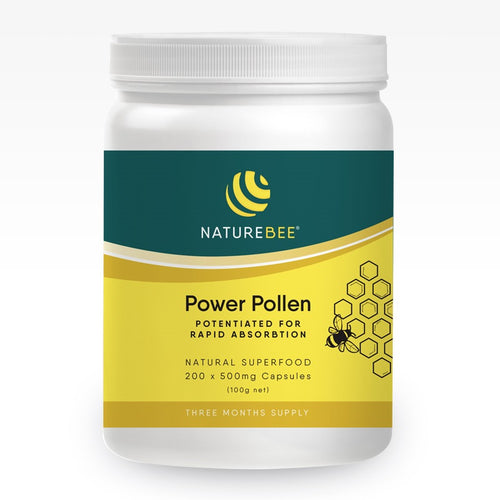NatureBee Power Pollen Potentiated Bee Pollen (formerly NatureBee Potentiated Pollen)