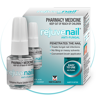 Rejuvenail Anti-Fungal Nail Lacquer Solution (NZ Only)