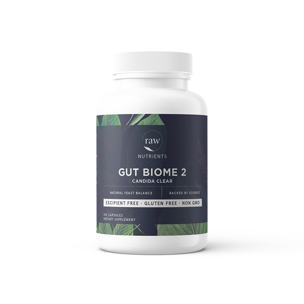 Raw Nutrients Gut Biome 2 Candida Care (was M&R Essentials)