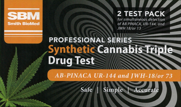 SBM Synthetic Cannabis Triple Drug Test