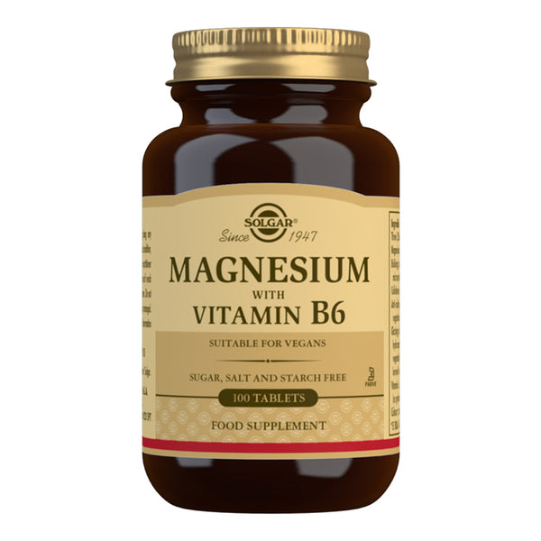 Solgar Magnesium with Vitamin B6
