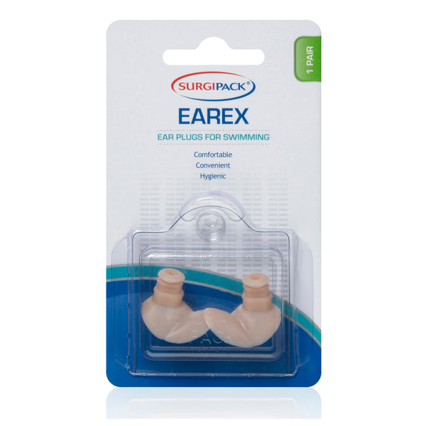 SurgiPack Earex Ear Plugs for Swimming