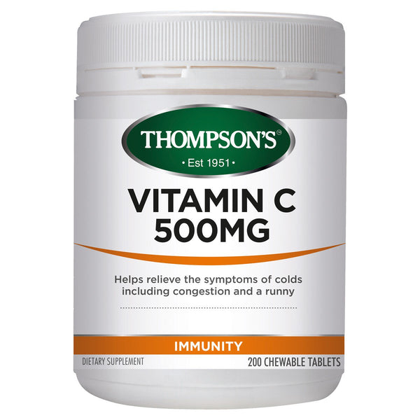 Thompsons Vitamin C 500mg Chewable