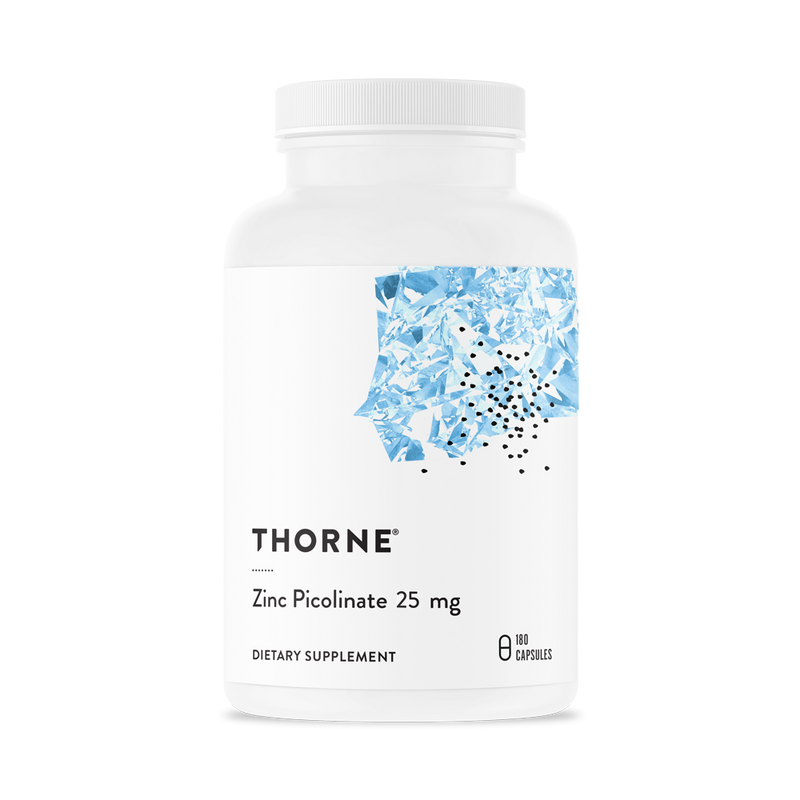 Thorne Research Zinc Picolinate 25mg