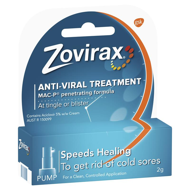 Zovirax Cold Sore Cream