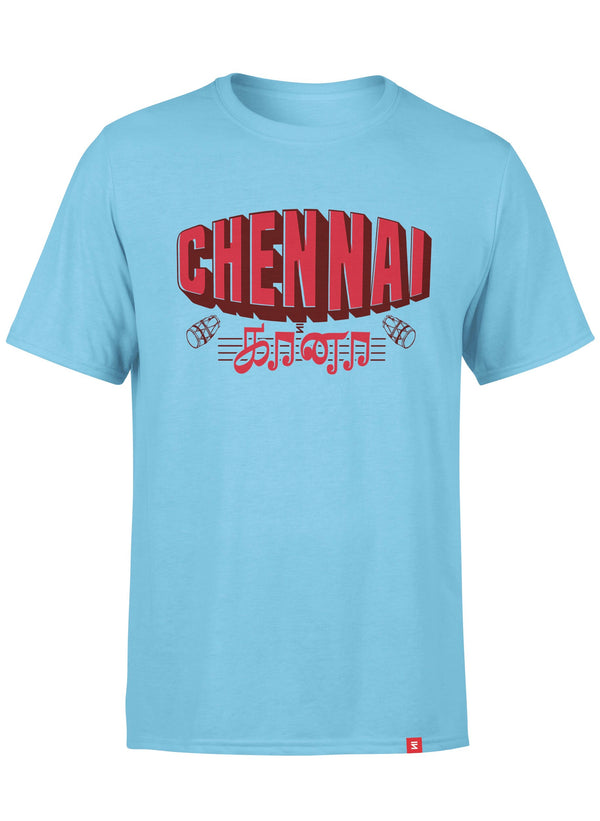 Chennai Gaana Men Round Neck T-Shirt