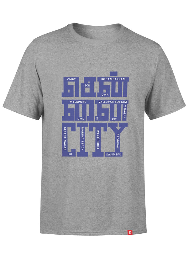 Chennai City Men Round Neck T-Shirt
