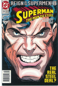 Superman: The Man of Steel #25