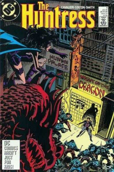 Huntress #4 - Fine - Black Dragon Comics