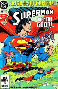 Superman #82-2nd Print