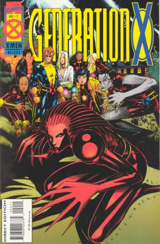Generation X #2A - Very Fine - Black Dragon Comics