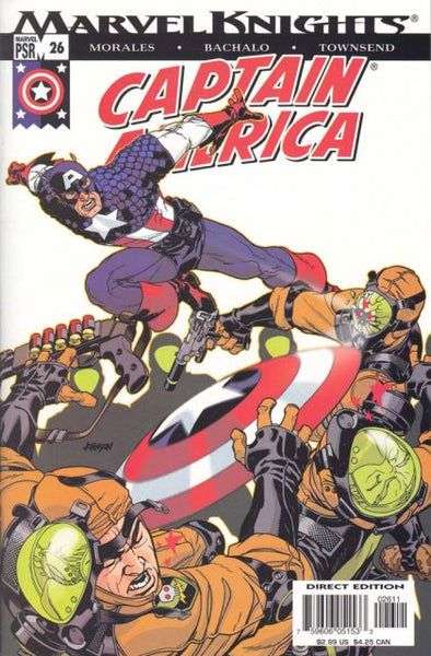 Captain America, Vol. 4 #26 - Very Fine - Black Dragon Comics
