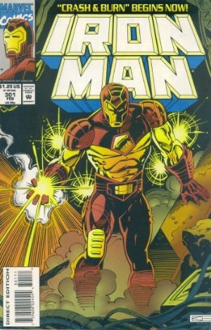 Iron Man Vol. 1 #301