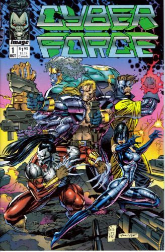 Cyberforce, Vol. 1 #1 - Near M int - Black Dragon Comics