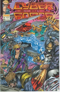 Cyberforce Vol. 1 #2