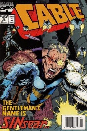 Cable, Vol.1 #5 - Very Fine