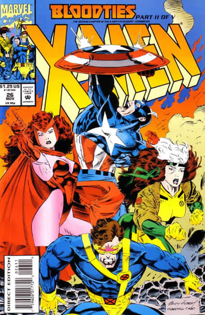 X-Men, Vol. 2 #26A - Near Mint