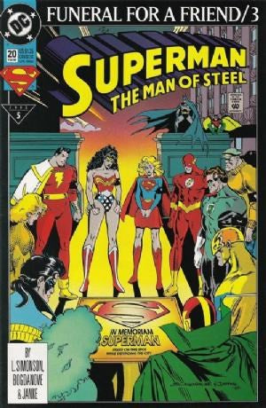 Superman: The Man of Steel #20