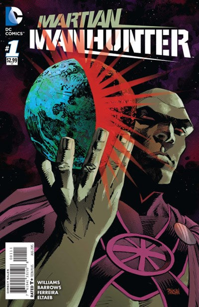 Martian Manhunter Vol. 4 #1