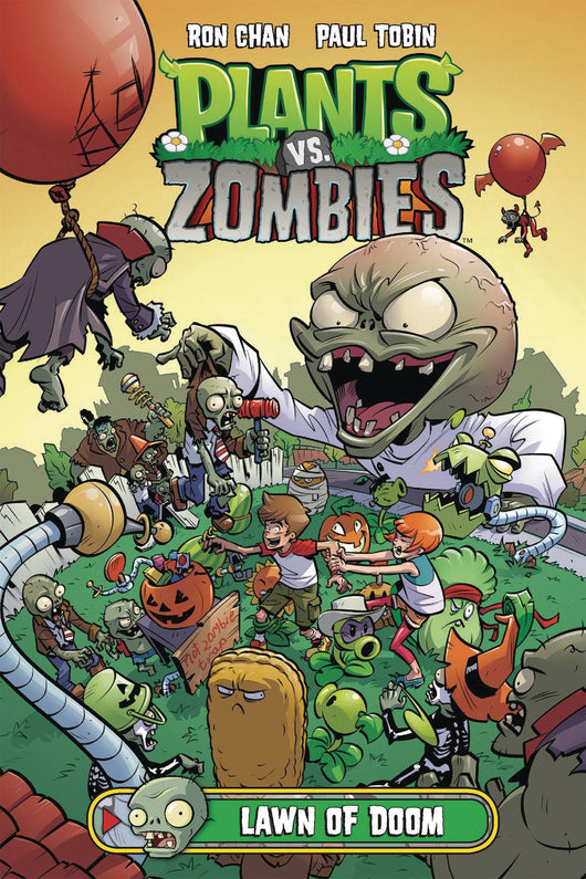 Plants Vs Zombies Lawn Of Doom Hc (jun170096) (c: 1-0-0)