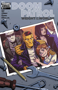 Doom Patrol: Weight Of The World #5