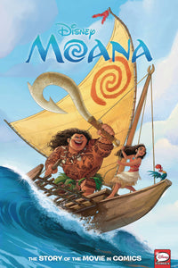 Disney Moana Story Of The Movie In Comics Hc (feb200299) (c: