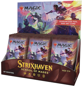 Magic The Gathering: Strixhaven School Of Mages Set Booster Dis (30ct)