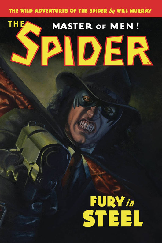 Wild Adv The Spider Sc Novel Vol 02 Fury In Steel (c: 0-1-0)