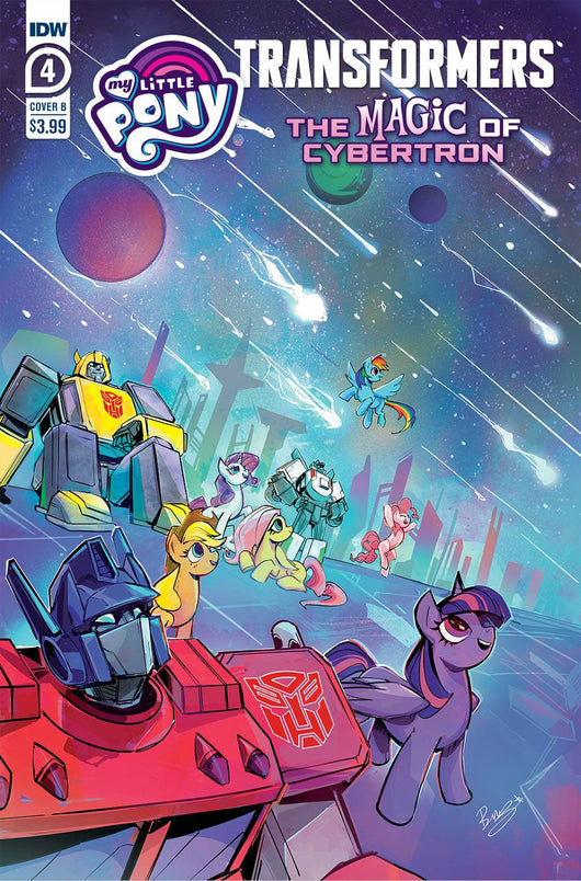 Mlp Transformers Ii #4 (of 4) Cvr A Tony Fleecs