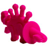 Dibly - the Dino-Sore-No-More Baby Teething Toy - color Magenta