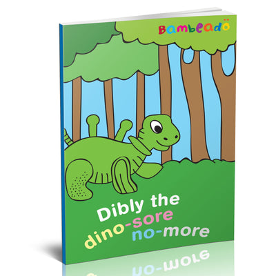 Dibly the Dino-Sore-No-More - Cyan